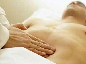Появления болей при язве в желудке