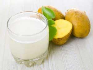 Польза картофельного сока